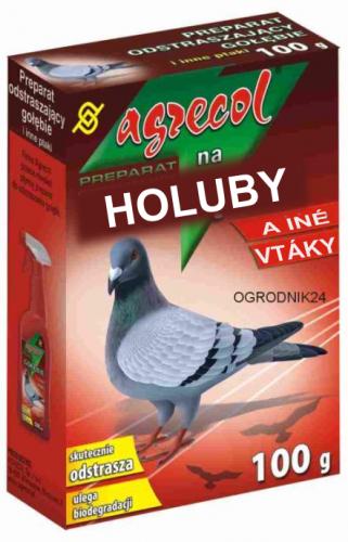 Humánny prípravok proti holubom a iným vtákom - obrázok